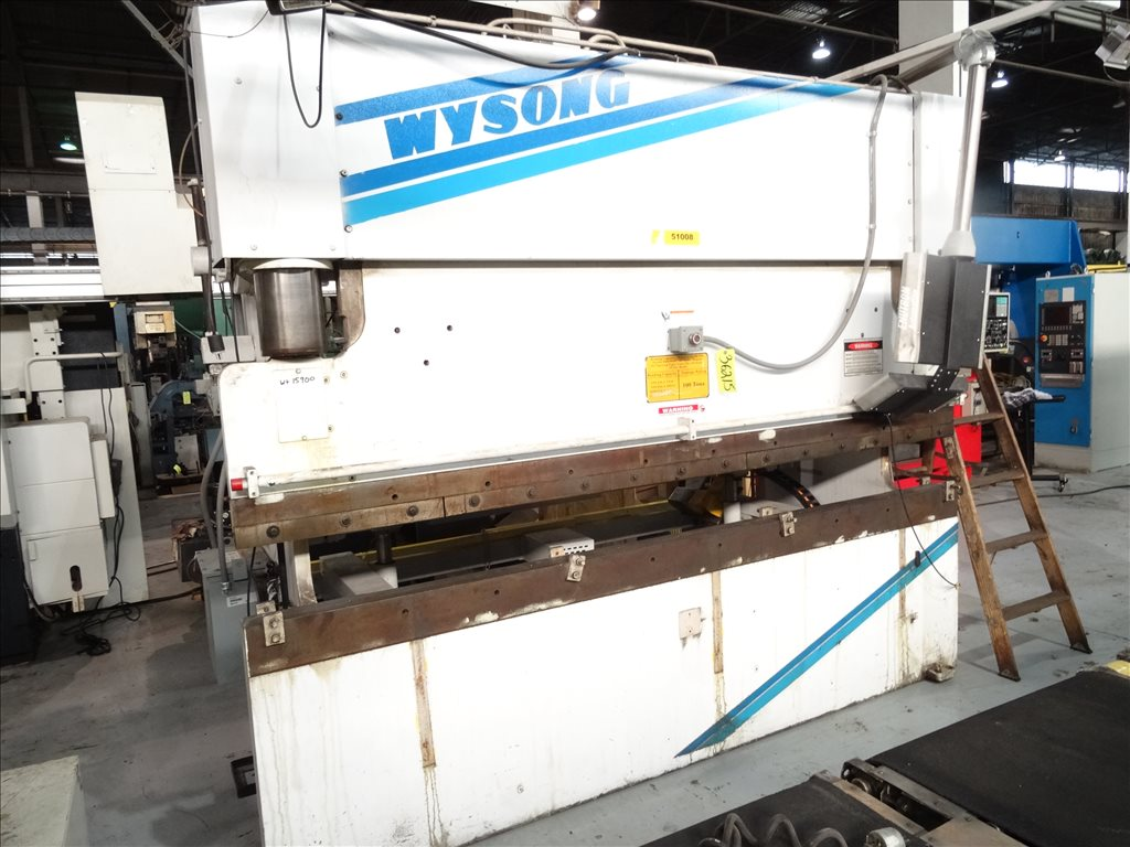 Used ---Unknown--- For Sale - WYSONG THS100-120 HYDRAULIC